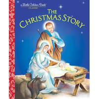 Little Golden Books The Christmas Story from Blain's Farm and Fleet