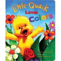 Little Simon Little Quack Loves Colors Board Book from Blain's Farm and Fleet