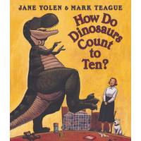 Scholastic How Do Dinosaurs Count To Ten? Book from Blain's Farm and Fleet