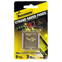 Cooper Bussmann 3 Amp Glass Fast - Acting Cartridge Fuse from Blain's Farm and Fleet