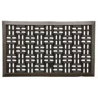 Bacova Trellis Rubber Scraper Mat from Blain's Farm and Fleet