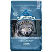 Blue Buffalo Wilderness 24 lb Grain Free Chicken Natural Evolutionary Diet Adult Dog Food from Blain's Farm and Fleet