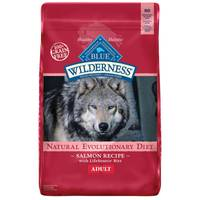 Blue Buffalo Wilderness 24 lb Grain Free Salmon Natural Evolutionary Diet Adult Dog Food from Blain's Farm and Fleet