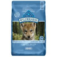 Blue Buffalo Wilderness Grain Free Chicken Natural Evolutionary Diet Puppy Food from Blain's Farm and Fleet