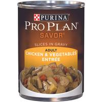 Purina Pro Plan Savor Chicken & Vegetables Entree Adult Wet Dog Food from Blain's Farm and Fleet