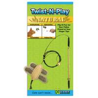 Ware Twist-N-Play Wood Wand Cat Toy from Blain's Farm and Fleet