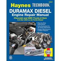 Haynes Duramax Diesel Engine Repair Manual, '01-'12 Manual from Blain's Farm and Fleet