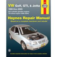 Haynes VW Golf & Jetta, '99-'05 Manual from Blain's Farm and Fleet