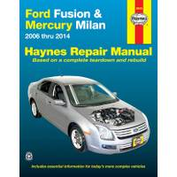 Haynes Ford Fusion (06-14) & Mercury Milan (06-11) from Blain's Farm and Fleet
