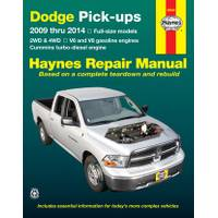 Haynes Dodge Full-Size Pick-Ups, '09-'14 from Blain's Farm and Fleet