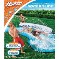Banzai Speed Curve Water Slide from Blain's Farm and Fleet