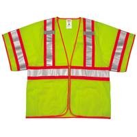 Tingley Rubber Men's Job Sight High Visibility Class 3 Vest from Blain's Farm and Fleet
