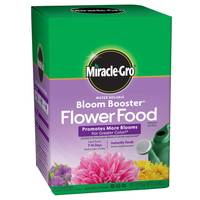 Miracle-Gro Water Soluble Bloom Booster Flower Food from Blain's Farm and Fleet