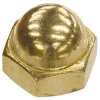 Hillman Brass Plated Acorn Nut from Blain's Farm and Fleet