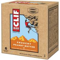 Clif Bar Builder's Crunchy Peanut Butter 20g Protein Bars - 6 Count from Blain's Farm and Fleet