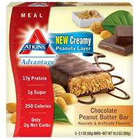 Atkins Advantage Chocolate Peanut Butter Bars from Blain's Farm and Fleet