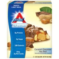 Atkins Advantage Caramel Chocolate Nut Roll Bars from Blain's Farm and Fleet