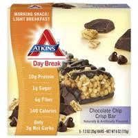 Atkins Day Break Chocolate Chip Crisp Bars from Blain's Farm and Fleet