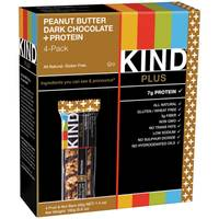 Kind Plus Peanut Butter Dark Chocolate + Protein Bars from Blain's Farm and Fleet