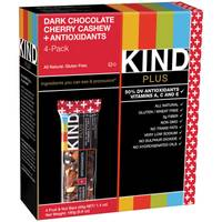 Kind Plus Dark Chocolate Cherry Cashew + Antioxidants Bars from Blain's Farm and Fleet