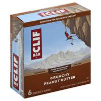 Clif Bar Crunchy Peanut Butter Energy Bars - 6 Count from Blain's Farm and Fleet