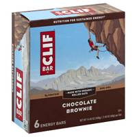 Clif Bar Chocolate Brownie Energy Bars - 6 Count from Blain's Farm and Fleet
