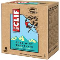 Clif Bar Cool Mint Chocolate Energy Bars - 6 Count from Blain's Farm and Fleet