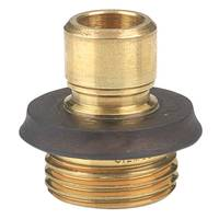 Gilmour Professional Brass Male Quick Connector from Blain's Farm and Fleet