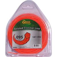 Grass Gator Orange Twisted Trimmer Zip Line from Blain's Farm and Fleet
