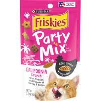 Friskies Party Mix California Dreamin' Crunch Cat Treats from Blain's Farm and Fleet