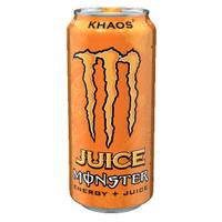 Monster Khaos Energy + Juice from Blain's Farm and Fleet