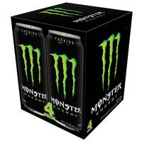 Monster Energy - 4 Pack from Blain's Farm and Fleet