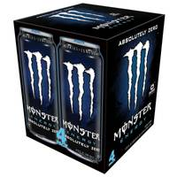 Monster Energy Drink - 4 Pack from Blain's Farm and Fleet
