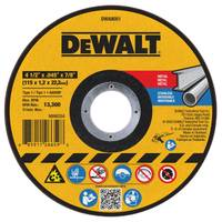 DEWALT Metal Cut - Off Wheel from Blain's Farm and Fleet