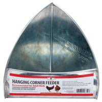 Little Giant Galvanized Hanging Corner Feeder from Blain's Farm and Fleet