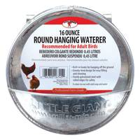Little Giant Galvanized Round Hanging Waterer from Blain's Farm and Fleet