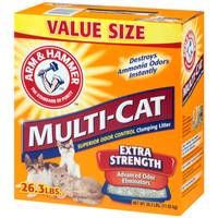 Arm & Hammer MultiCat Clumping Litter from Blain's Farm and Fleet