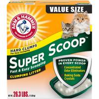 Arm & Hammer Super Scoop Fresh Scent Clumping Litter from Blain's Farm and Fleet