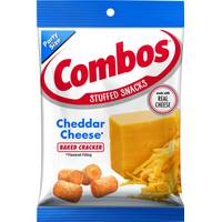 Combos Cheddar Cheese Cracker Snacks from Blain's Farm and Fleet