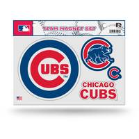 MLB Chicago Cubs Team Magnet Sheet - 4 Pack from Blain's Farm and Fleet