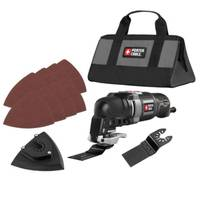 PORTER-CABLE 11 - Piece Oscillating Multi - Tool Kit from Blain's Farm and Fleet
