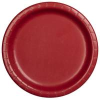 Creative Converting Classic Red Lunch Plates from Blain's Farm and Fleet
