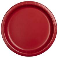 Creative Converting 8 Count Classic Red Dinner Plates from Blain's Farm and Fleet