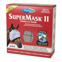 Farnam Supermask II Classic Horse Fly Mask Without Ears from Blain's Farm and Fleet