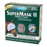 Farnam Supermask II Classic Horse Fly Mask Without Ears for Horses from Blain's Farm and Fleet