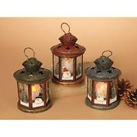 Gerson International Holiday Snowman Lanterns Assortment from Blain's Farm and Fleet