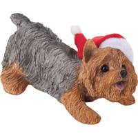 Sandicast Yorkshire Terrier Crouching Ornament from Blain's Farm and Fleet
