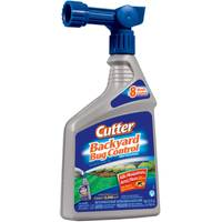 Cutter Backyard Bug Control Ready-to-Spray Hose End Insect Repellent Concentrate from Blain's Farm and Fleet