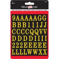 Hillman Peel and Stick Letters and Numbers from Blain's Farm and Fleet
