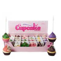 Kurt S. Adler Cupcake Ornament Assortment from Blain's Farm and Fleet